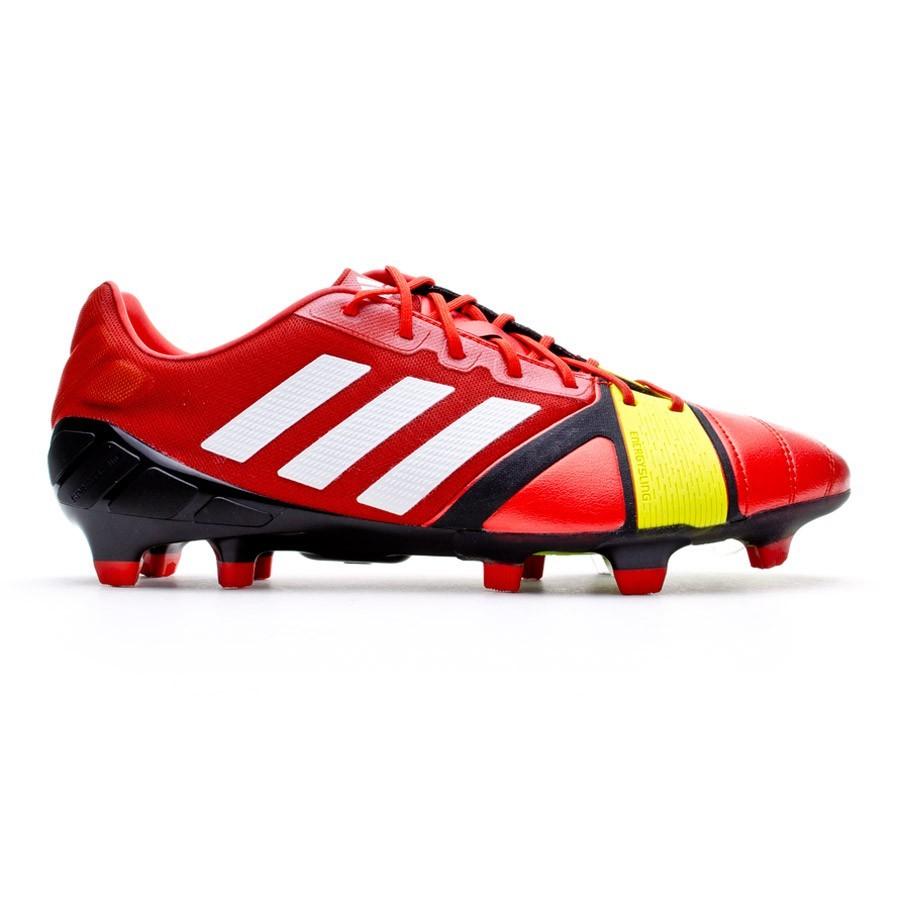 1e7f138fe Football Boots adidas Nitrocharge 1.0 TRX FG Red - Tienda de fútbol Fútbol  Emotion