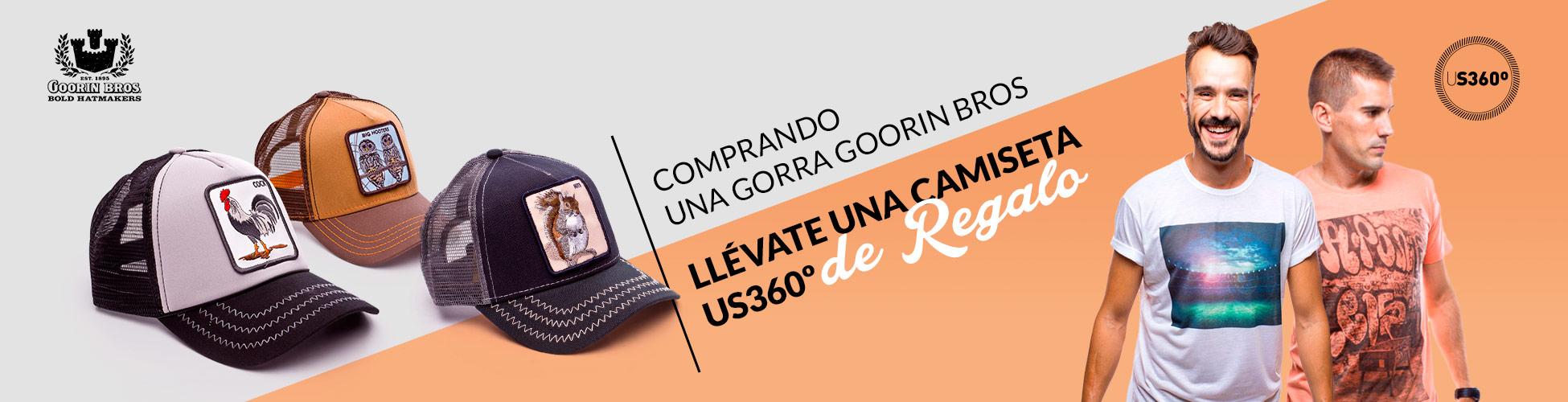 Pack Gorras Goorin Bros + US360