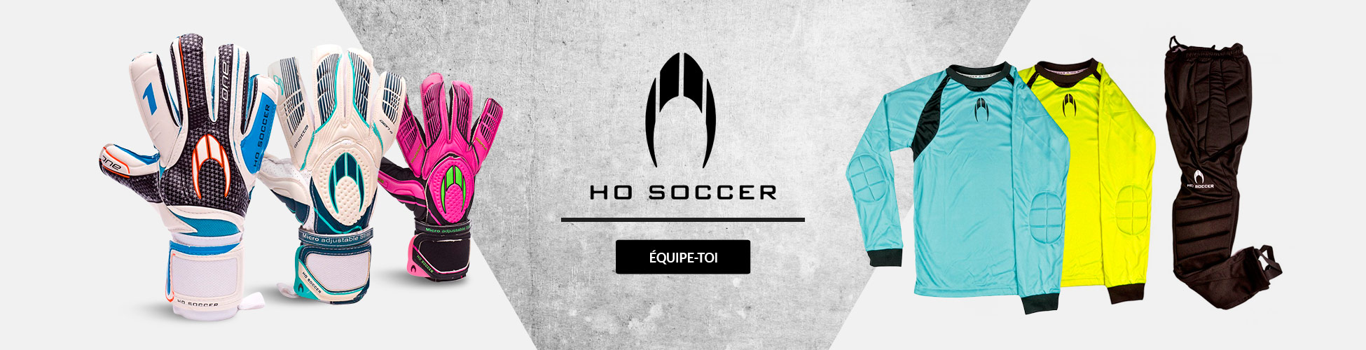 Equipate con HO Soccer FR