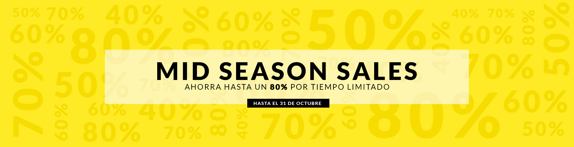 Mid Season Sales ES