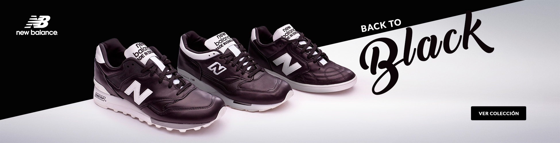 New Balance Urban Black ES