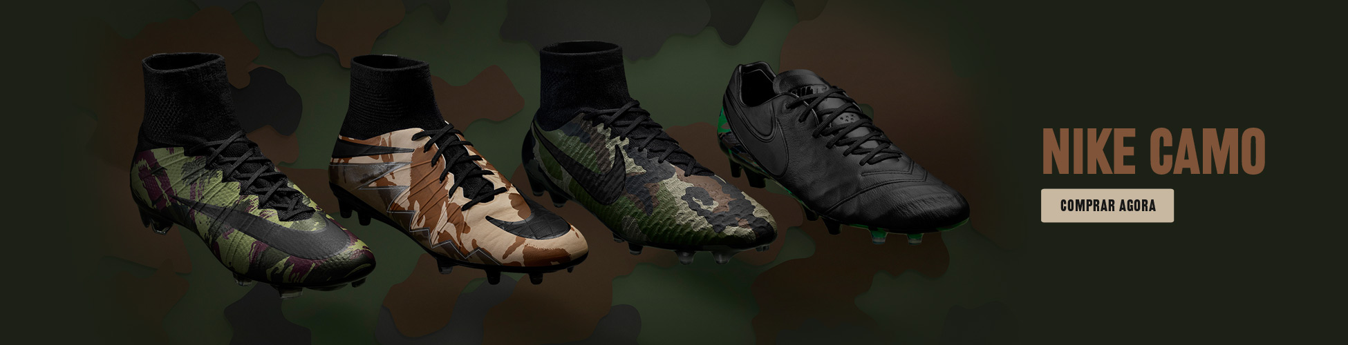 Botas Nike Camo Pack PT