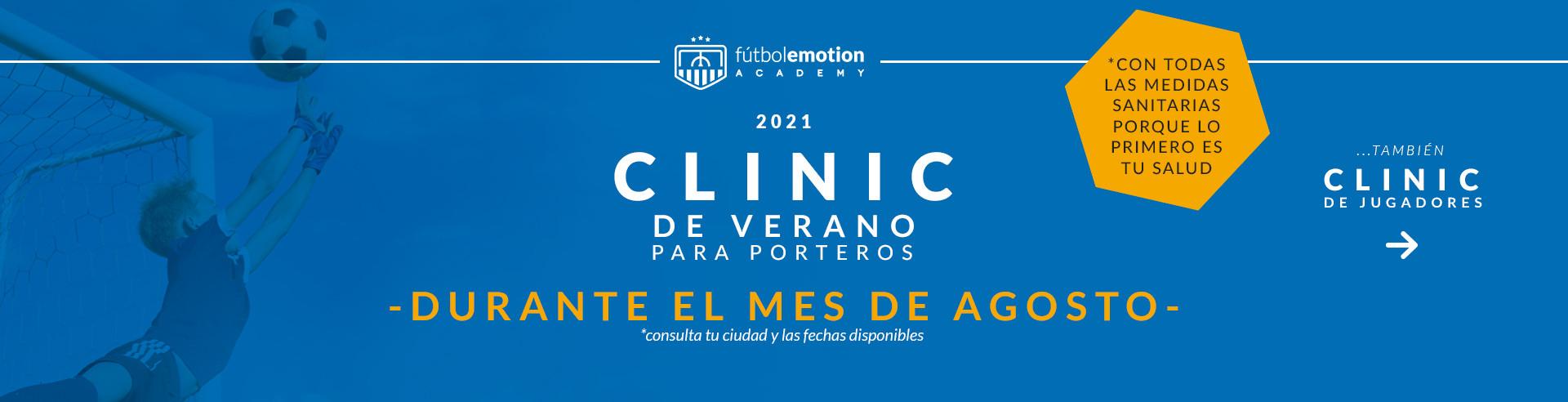 Clinic porteros verano 2021