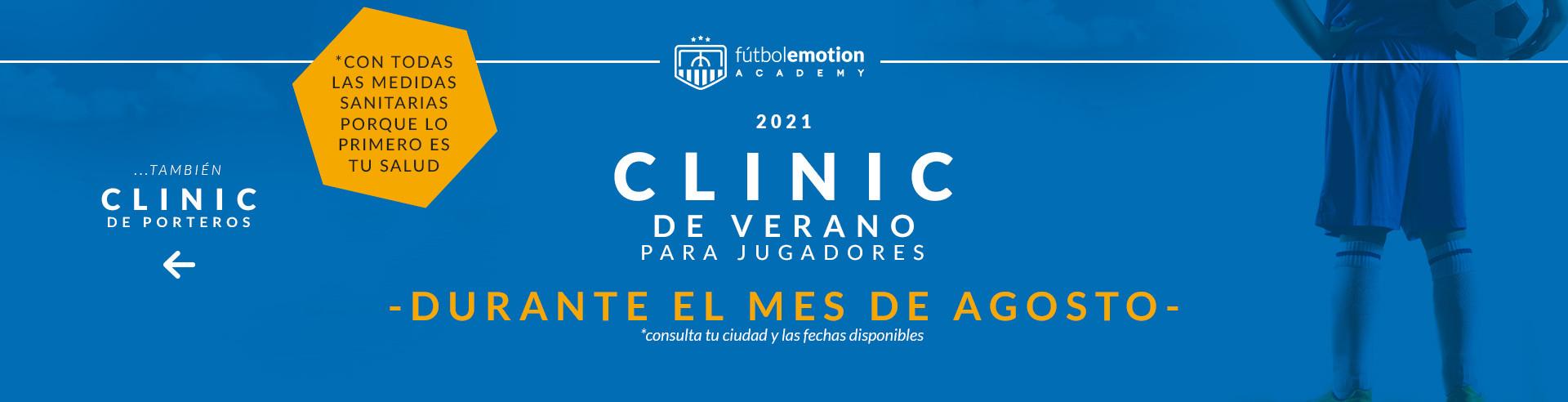 Clinic jugadores verano 2021