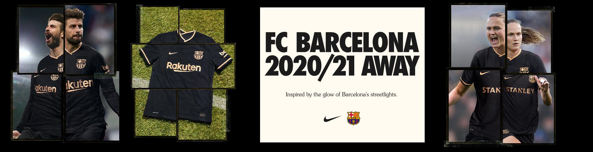 NIKE FC BARCELONA NEW AWAY KIT 2020 2021 JULIO 2020 ES MX