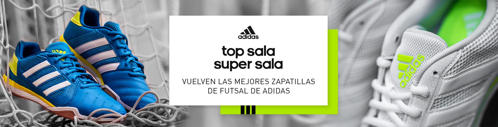 Adidas Top Sala y Super Sala