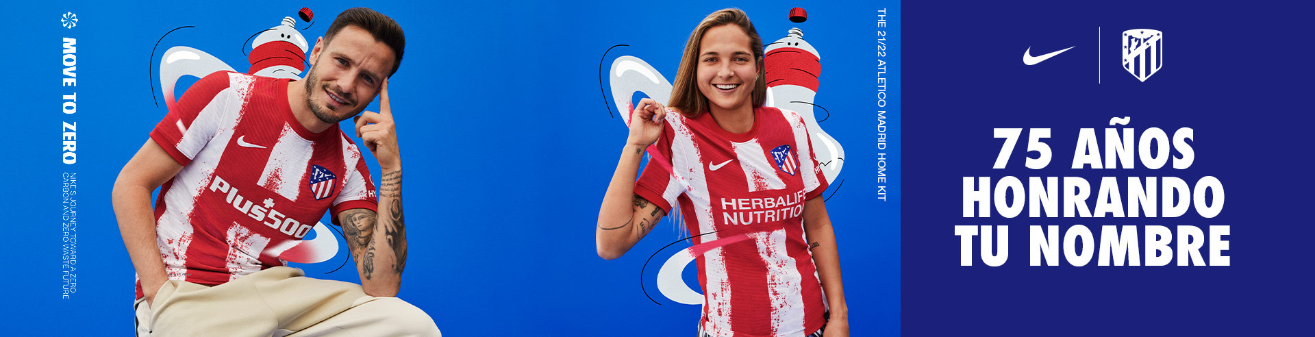 Camiseta Atlético de Madrid 2021-2022