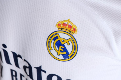 The new Real Madrid football jersey