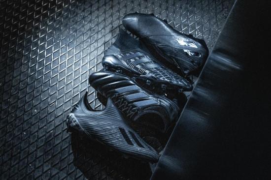 DARK SCRIPT ADIDAS – BLACKOUT FOOTBALL BOOTS