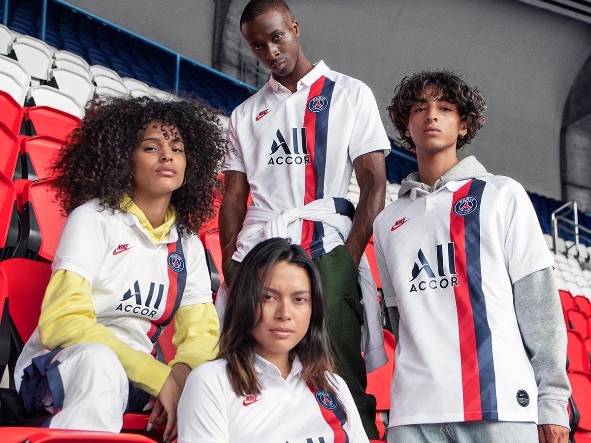 La terza maglia bianca del Paris Saint-Germain 2019/2020 - Blog ...