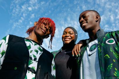 Nike presenta la nueva camiseta de Nigeria