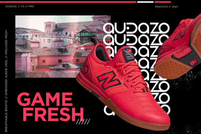 Nueva zapatilla de fútbol sala New Balance Audazo v5
