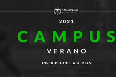 Campus de verano Fútbol Emotion 2021
