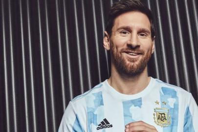 La camiseta de Argentina para la Copa América