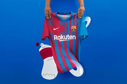 Nueva Camiseta del Fc Barcelona
