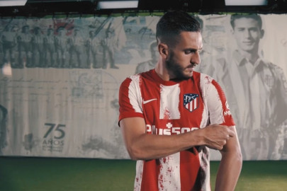 Nueva camiseta del Atlético de Madrid