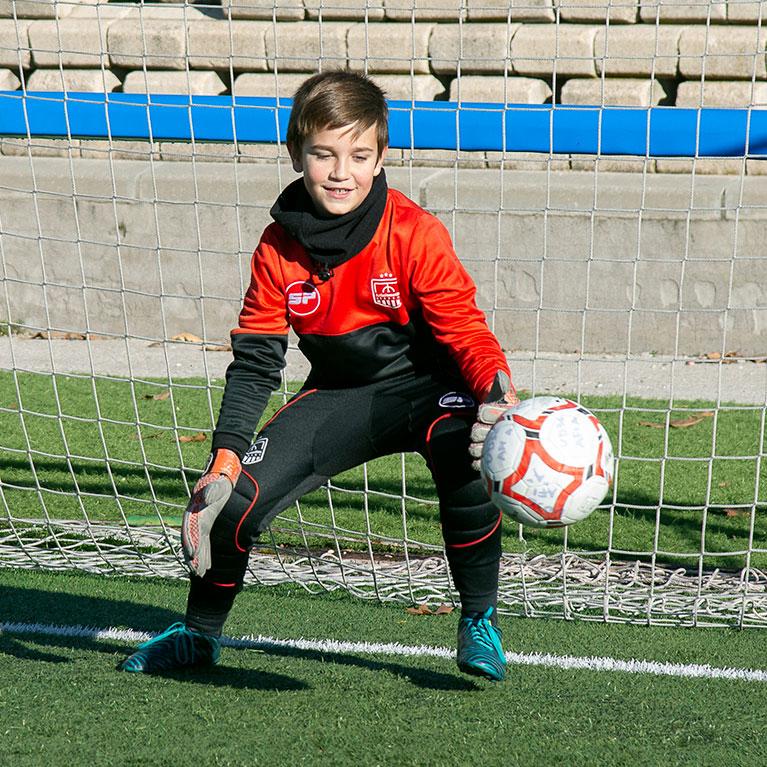Clinics de porteros de Fútbol Emotion Academy