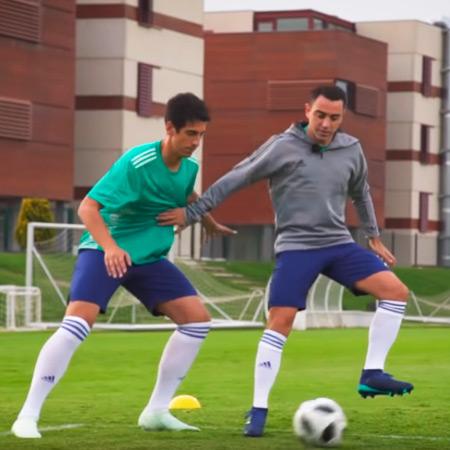 Masterclass con Xavi Hernandez