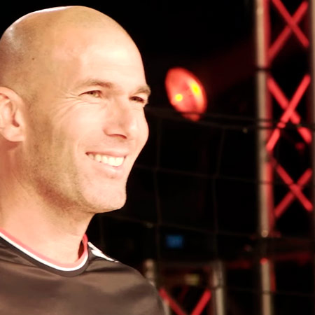Adidas event with Zidane