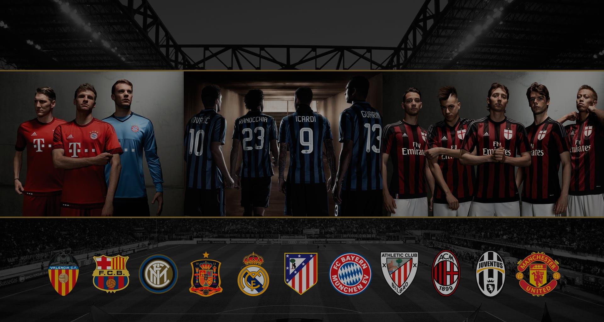 Equipaciones y productos oficiales de equipos y selecciones de fútbol -  Soloporteros es ahora Fútbol Emotion 50d6f380387