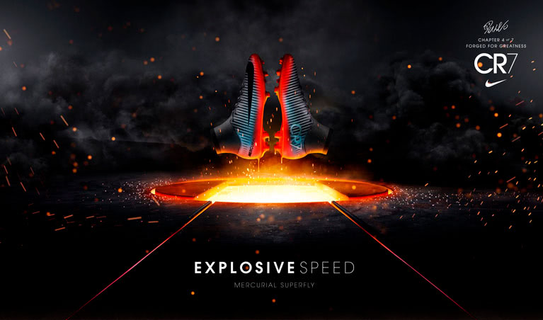 nike mercurial explosive speed