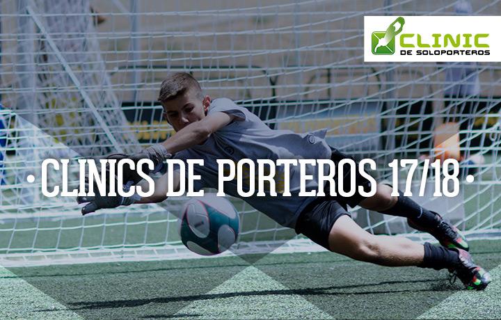 Clicnics de fútbol para porteros