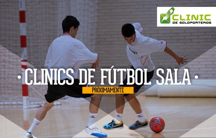 Clicnics de Fútbol Sala