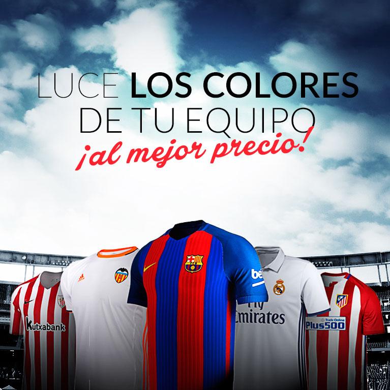 Los equipos de la Liga Santander