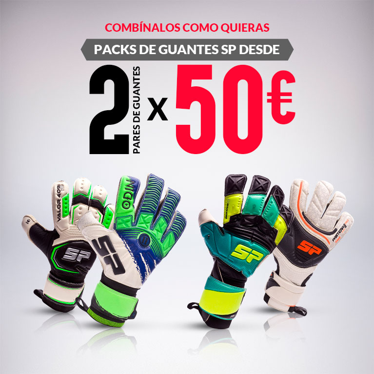 PACKS DE GUANTES SP 2017