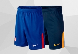 Pantaloni corti dell'Atletico Madrid