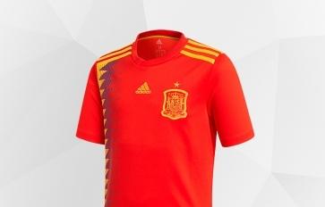 Prima divisa della nazionale spagnola