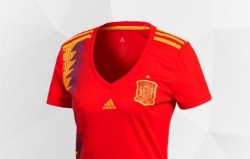 Abbigliamento Donna della nazionale spagnola