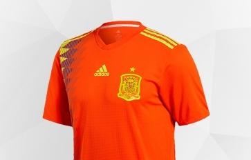 Abbigliamento Uomo della nazionale spagnola