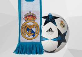 REAL MADRID BALLS AND ACCESORIES