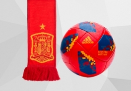 SPANISH FEDERATION BALLS AND ACCESORIES