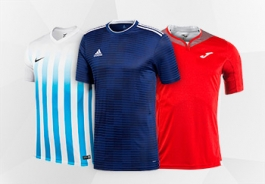 Club football kits
