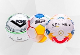 Futsal footballs in sizes 3 and 4