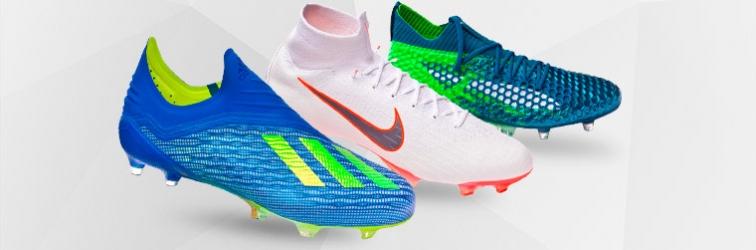 Dernières nouveautés en chaussure de football