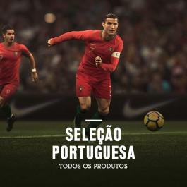 Todos os produtos oficiais da seleção portuguesa