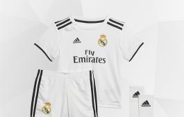 TENUES DU REAL MADRID