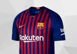 BARCELONA FC HOME KIT