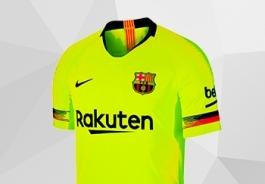 BARCELONA FC AWAY KIT