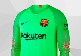 BARCELONA FC GOALKEEPER KIT