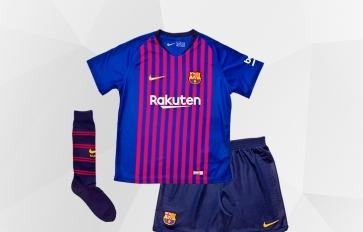 BARCELONA FC PRODUCTS FOR KIDS AND INFANTS