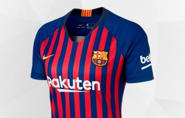 bd41a9e33 Maglie del FC Barcelona. Abbigliamento del FC Barcellona - Negozio ...