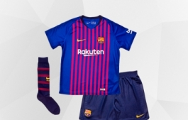 BARCELONA FC KITS