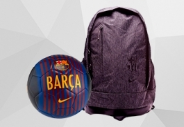 BARCELONA FC BALLS AND ACCESORIES