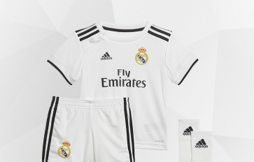 REAL MADRID PRODUCTS FOR  KIDS AND INFANTS