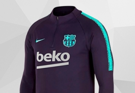 SWEAT DU FC BARCELONE