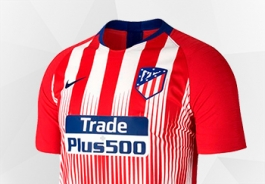 Playera Nike del Atlético de Madrid